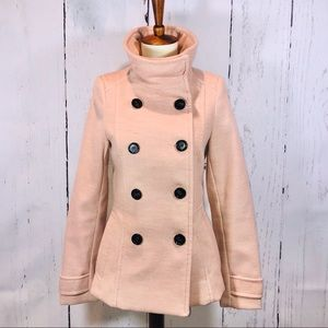 H&M Dusty Pink Peacoat